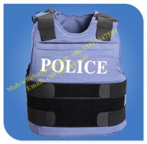 Quality ballistic police vest bullet resistant vest police body armor wholesale