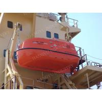 China 5m Totally Enclosed Lifeboat With Gravity Davit for sale on sale