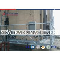 China Angle Adjustable Assenbly Personnel Hoist System For Window Cleaning Machine on sale