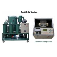 Quality ZJA Double-Stage Transformer Oil Purifier/Insulation Oil Filtration/Dielectric Oil Purification Equipment wholesale
