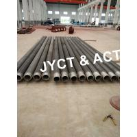 Quality Solid Sprial Welded Finned Tubes / Helical Fin Tube For Heat Exchanger wholesale