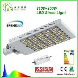 Cheap Rotatable 200W LED street light 50000 Hrs Life Span AC 85 – 277 V CE RoHS for sale