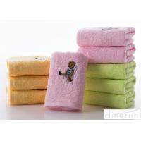 Quality Soft Touch Solid Color Face Wash Towel With Embroidery Logo 34*74cm wholesale