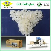 Quality Folding Carton Box Hot Melt Edge Banding / Packaging White Granule First Grade wholesale