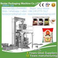 China Supplier Vertical Automatic Granule Rice/Snacks/Seeds/Grain Packing Machine on sale