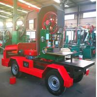 Buy cheap Vertical Band Sawmill Wood Cutting Saws Portable with Table Forest Mobile Working from wholesalers