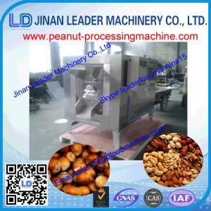 Quality High capacity peanut roasting machine nuts almond roaster wholesale