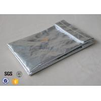 "Quality Fiber Glass Cloth Fireproof Document Bag /  6.7""x 10.6"" Fire Resistant Envelope wholesale"