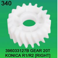 Quality 396033127B / 3960 33127B GEAR TEETH-20 FOR KONICA R1,R2(RIGHT) minilab wholesale