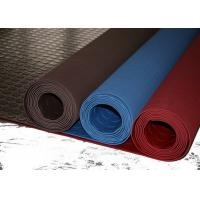 Quality Red Industrial Rubber Sheet Top Round Button , Bottom Impression Fabric Non Slip wholesale