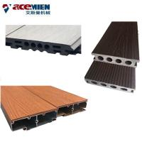 China PVC Recycling Wood Plastic Composite Production Line Profile Extrusion Equipment on sale