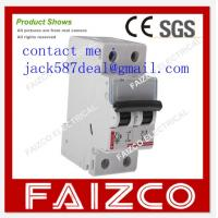 Quality miniature circuit breaker/MCB/ Legrand style   2pole circuit breaker wholesale