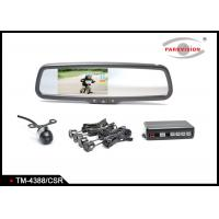 Quality Bumper Mounting TFT LCD Car Rear View Mirror Camera SystemInbuilt Beeping  Alarm wholesale