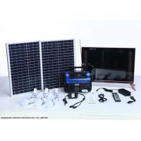 Quality High End Residential Solar Power Systems Build In Rechargeable Battery wholesale