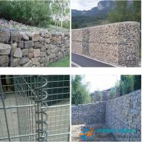 Quality Low Cost Gabion Mesh/Gabion Box With Galvanized Wire, PVC Coated Wire wholesale