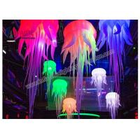 Quality Led Light Giant Inflatable Pots Party Decoration Hanging Decor For Party Event wholesale
