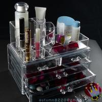 Quality CB (44) plastic clear cosmetic organizer wholesale