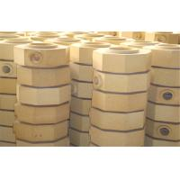 Quality Dry Pressed Cement Kiln Refractory Brick Fire Clay Bricks For Ingot Steel Casting wholesale
