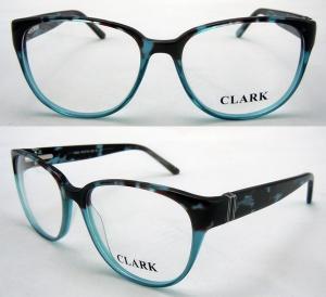 Cheap Pink Yellow Blue Fashion Handmade Acetate Eyewear Optical Frames For Women for sale