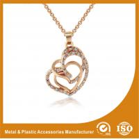 Quality Gold Plated / Silver Plated Metal Chain Necklace Jewellery ECO Friendly wholesale