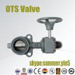 Quality JIS 10K  JIS20K, Class150 PN10 PN16 butterfly valve with worm gear wholesale