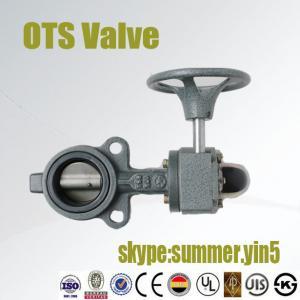 JIS 10K  JIS20K, Class150 PN10 PN16 butterfly valve with worm gear