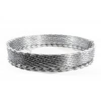Quality CBT-60 Hot Dipped Galvanized Razor Barbed Wire / Coil With Diameter 30cm wholesale