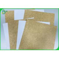 China 250 Gsm 365 Gsm Foodgrade White Top Coated Kraft Liner Paperboard For Fast Food Box on sale