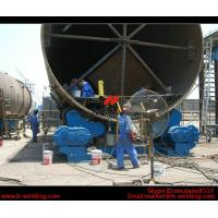 Quality Automatic Vessel Pipe Welding Rotator / Welding Roller Beds With Steel Roller wholesale
