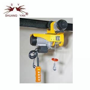 China PA1000A Mini Electric Hoist , Overhead Electric Hoist  220V/230V Yellow Color on sale