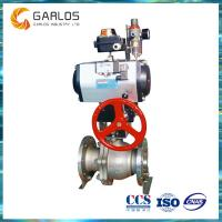 Quality Q641F Pneumatic Actuated Floating Ball Valve wholesale