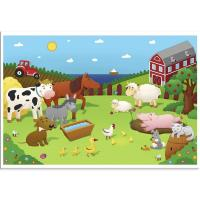 China BPA Free Disposable Baby Placemat , Educational Plastic Adhesive Placemats For Babies on sale