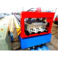 Quality High Speed Metal Deck Roll Forming Enquipment Color Steel With Japan Panasonic PLC System wholesale