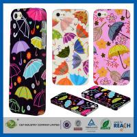 Quality Colorful Umbrella Hard Skin Cover Shell Apple Cell Phone Cases For Iphone 5G 5 5S wholesale