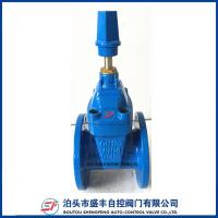 Quality DIN3352 F5 F4 Resilient Seated Ductile Iron Gate Valve wholesale
