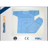 China Eco Friendly Disposable Scrub Suits Surgical Hospital Gowns With CE Certificate on sale