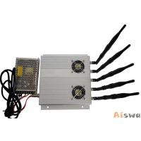 Buy cheap 20w Tabletop High Range Mobile Jammer Signal Blocker 315 / 344 Mhz For Classroom from wholesalers