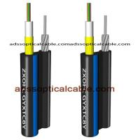 Quality Figure 8 Outdoor Multimode Fiber Optic Cable Central Loose Tube With Yarn wholesale