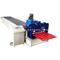 Quality PPGi GI Metal Roofing Sheet Roll Forming Machine Double Layer 45# Steel Roller wholesale