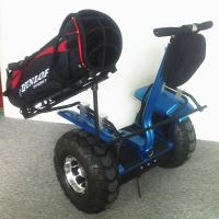 China New arrival big wheel golf cart ,two wheel self balancing electric scooter with golf bag carrier bracket on sale