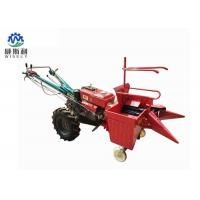 China 0.33 Acre / H Corn Harvester Machine , Single Row Maize Combine Harvester on sale