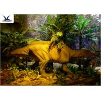 Quality Garden Animal Statues For Dinosaur Statue Park , Velociraptor Lawn Ornament  wholesale