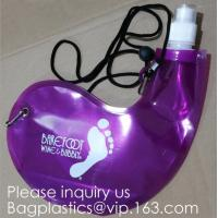 Quality Collapsible Water Bottle Reusable Drinking Water Bottle with Clip for Biking, Hiking Travel, Gym, Sports, teams, Hiking wholesale