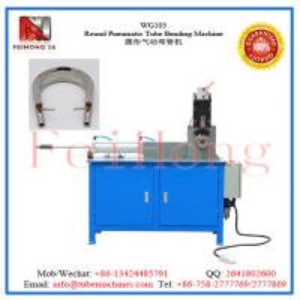 China Round Pneumatic Tube Bending Machine on sale