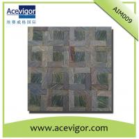 Quality Rustic antique solid wood mosaic wall tiles for crafts decoration wholesale