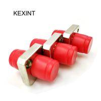 Quality Small FC Fiber Optic Adapters D Type Square Shape CATV Network Support wholesale