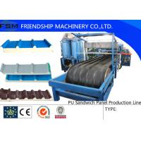 Quality JF100 Type PU Sandwich Panel Production Line For 30-200mm wholesale