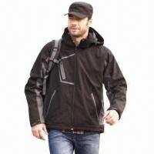 Quality Men's Softshell Jacket, Windbreaker, Outdoor Wear and Casual Coat, Waterproof, Fashionable Design wholesale