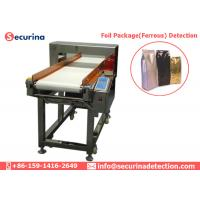 Quality Automatic Foil Bundle Metal Detector Machine 304 SS For Food Processing Industry wholesale