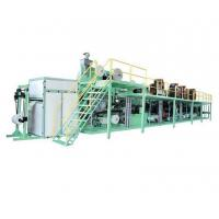 China Fully Automatic Control Baby Diaper Production Line / Diaper Manufacturing Machine on sale